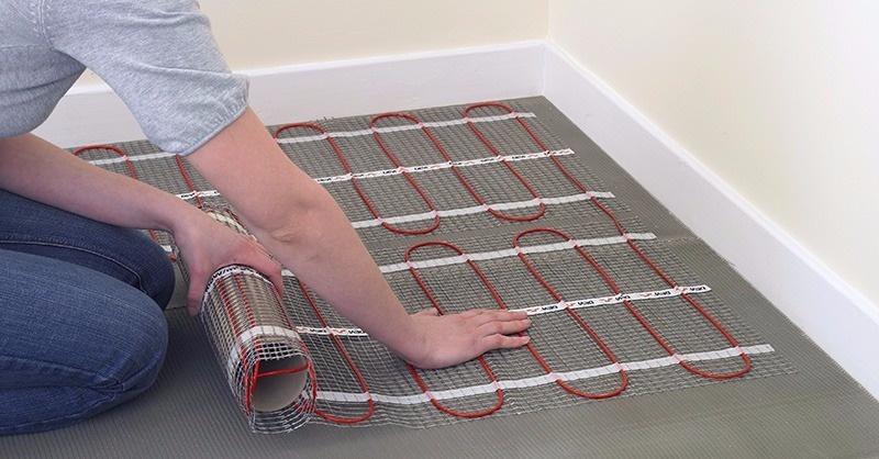 Elektromos padlófűtés bekötése